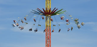 Chairoplane of the  Stock Image