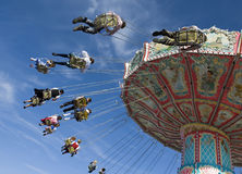 The chairoplane of the  Royalty Free Stock Images