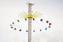 Chairoplane Royalty Free Stock Images