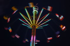 Chairoplane Royalty Free Stock Photos