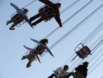 Chairoplane 5 Stock Photo
