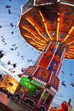 Chairoplane de rotation Photo libre de droits