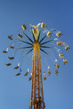 Chairoplane at Oktoberfest in Munich, Germany, 2015 Royalty Free Stock Photos
