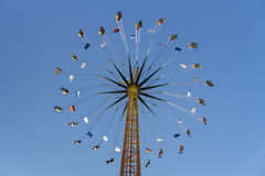 Chairoplane at Oktoberfest in Munich, Germany, 2015 Stock Photography