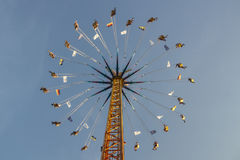 Chairoplane at Oktoberfest in Munich, Germany, 2016 Stock Photos