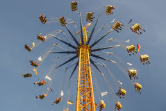 Chairoplane at Oktoberfest in Munich, Germany, 2016 Stock Photography