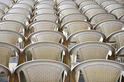 Chairs. Image of chairs on the indoor view Royalty Free Stock Photography