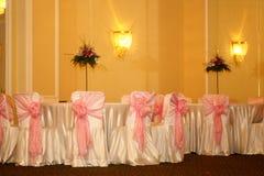Chairs. Turabo wedding ballroom for weddings Stock Images