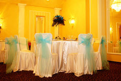 Chairs. Turabo wedding ballroom for weddings Stock Photo