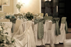 Chairs. A large wedding ballroom for weddings Stock Photo