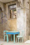 Chairs in abandoned house Royalty Free Stock Photo