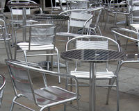 Chairs And Tables Stock Photography