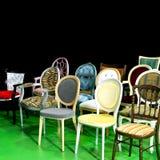Chairs angle Stock Photos