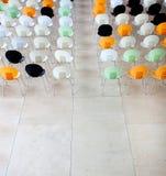 Chairs in auditorium Stock Image