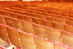 Chairs in the auditorium Stock Image