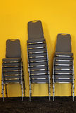 Chairs in banquette. Photograph of chairs in banquette Stock Images