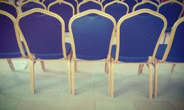 Chairs. A beautiful landscape view of chairs Stock Images