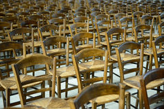 Chairs chairs chairs Royalty Free Stock Images