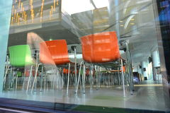Designer Chairs Royalty Free Stock Photos