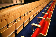 Chairs in concert hall, Sydney Opera House, Australia Stock Image