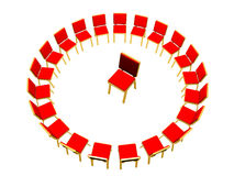 Chairs conference Royalty Free Stock Images