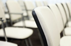 Chairs in a Conference Hall Royalty Free Stock Image