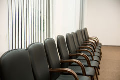 Chairs in the conference hall Royalty Free Stock Image