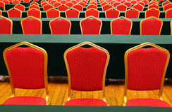 Chairs in conference room Royalty Free Stock Photos