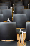 Chairs in conference room Stock Photography