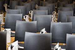 Chairs in conference room Stock Photos