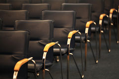 Chairs in the conference room Stock Photos