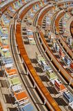 Chairs on a Cruise Ship Royalty Free Stock Photography