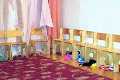 chairs dagisträ Royaltyfri Bild