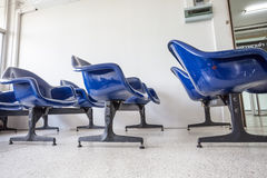 Chairs in de hall Stock Photo