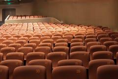 chairs den inre moderna theatren Royaltyfria Foton