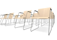 Chairs for employment Stock Image
