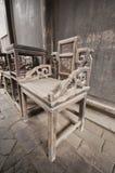 chairs gammalt Arkivfoto