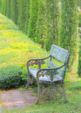 Chairs in the garden Stock Photos
