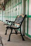 chairs gatan Royaltyfria Bilder