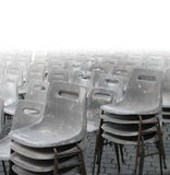 chairs grey Arkivbilder