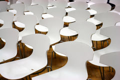 Chairs in hall Stock Images