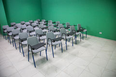 Chairs lined Royalty Free Stock Photos