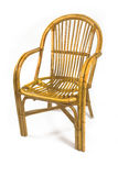 Chairs made of rattan Royalty Free Stock Photo