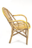 Chairs made of rattan Stock Image