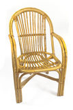 Chairs made of rattan Royalty Free Stock Images
