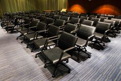 Chairs in the meeting room Royalty Free Stock Photography