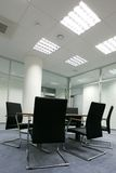 Chairs in Office Royalty Free Stock Images