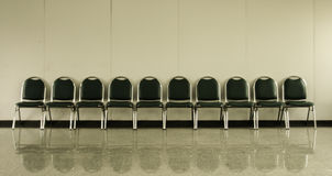 Chairs in ordinary empty Stock Photo