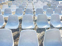 Chairs in outdoor Royalty Free Stock Photo