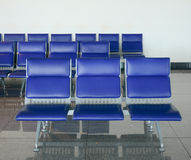 Chairs for people at waiting room Stock Photography